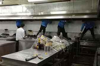 厨房油烟系统清洗
